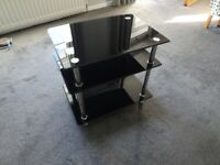 TV Stand. Glass 3 Tier