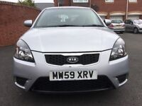 2010 Kia Rio 1.5 CRDI 2 Diesel, 12 Months MOT, Service History, £30 A Year Road Tax HPI Clear.