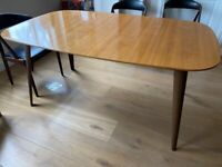 Heals dining table, sits 6-10