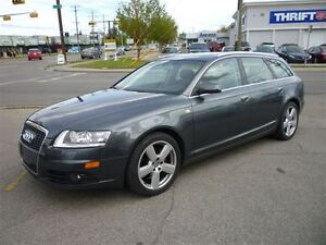2007 Audi A6 3.2 Avant QUATTRO S-LINE/NAVI/LEATHER/ALLOYS