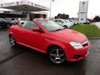 Vauxhall Tigra EXCLUSIV 16V RED (red) 2009