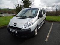Peugeot Expert Wheelchair Accessible Vehicle WAV 2011 - 12 Month Warranty