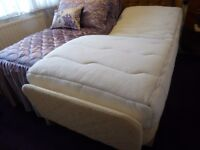 Single Adjustable Bed with therapeutic massage/vibration