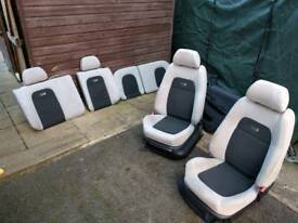 Skoda Fabia VRS seats and doorcards (6CD Changer)