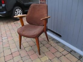 Retro mid century chair