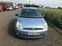 FORD FIESTA 5 DOOR 2005 BLUE