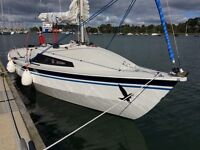 Hawk 20 Cabin, sail number 579, for sale in Lymington