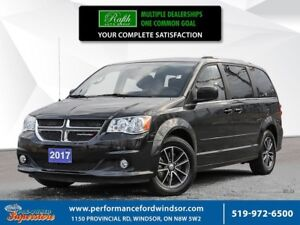 2017 Dodge Grand Caravan SXT ***NAV, DVD, power sliders***