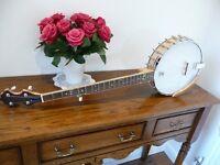 White Lady 'Style' Banjo