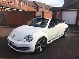 VW Convertible Beetle WHITE