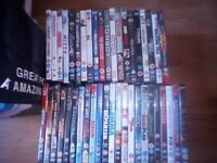 bundle of dvds and boxsets about 250
