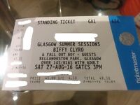 Biffy Clyro & Fall Out Boy Tickets x3 - Bellahouston Park