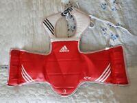 Adidas Taekwondo Body Armour size 3
