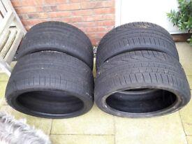 Set of Winter Tyres Pirelli Sottozero 295/30 R20 & 265/35 R20 99v M + S