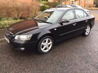 2007 HYUNDAI SONATA CRTD AUTO BLACK px to clear export