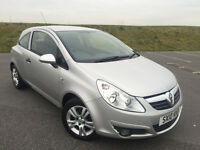 2010 VAUXHALL CORSA 1.2 ENERGY WITH FULL SERVICE HISTORY AND LONG MOT! GREAT CAR!