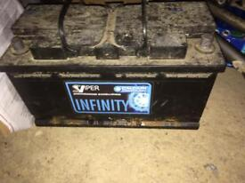 Large car battery UNTESTED