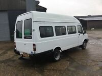 2003 LDV only 55000 miles from new 17 seater minibus camper conversion ? No mot bargain 995 no bids