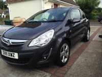 2011 Grey Vauxhall Corsa 1.2 16v SXi 3dr for sale