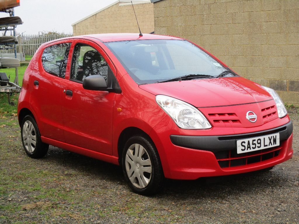 nissan pixo visia 2009 1000cc red brilliant on fuel economy in ipswich suffolk gumtree. Black Bedroom Furniture Sets. Home Design Ideas