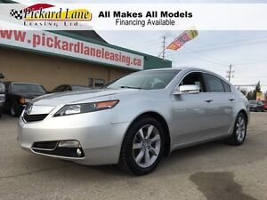 2012 Acura TL Elite ALL WHEEL DRIVE! FACTORY NAVIGATION! REAR...