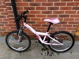 Girls bicycle.