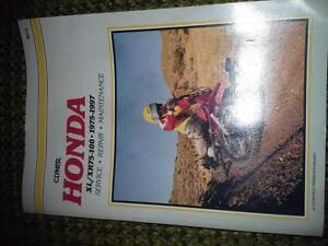 Honda XL / XR75-100 1975-1997 Clymer Manual