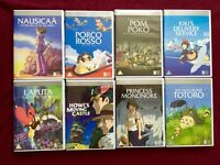 Collection of 8 Studio Ghibli DVD's