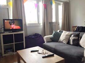 Big double room near Kings Cross, shared lounge