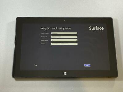 NICE Microsoft Surface RT 64GB Wi-Fi 10.6 inch 4GB RAM Silver Tablet Computer