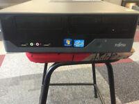Cheap Fujitsu Esprimo E3520 SFF PC/Server | Xeon X3210 Quad Core | 4GB | Win 10
