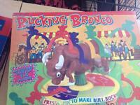 Bucking bronco game
