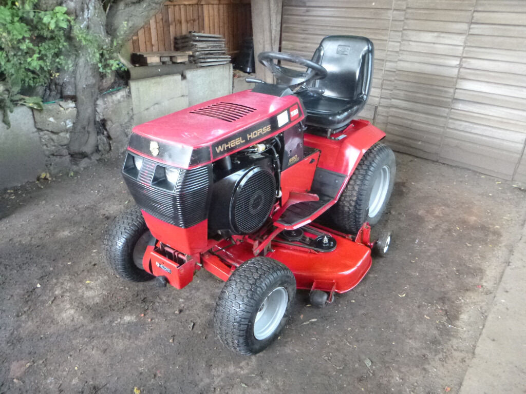 Mini Wheel Horse Tractor : Wheel horse h hp compact tractor ride on lawn