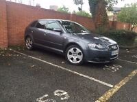 Audi A3 Sportback s-line 2.0 Tdi 140bhp with 6 speed gearbox