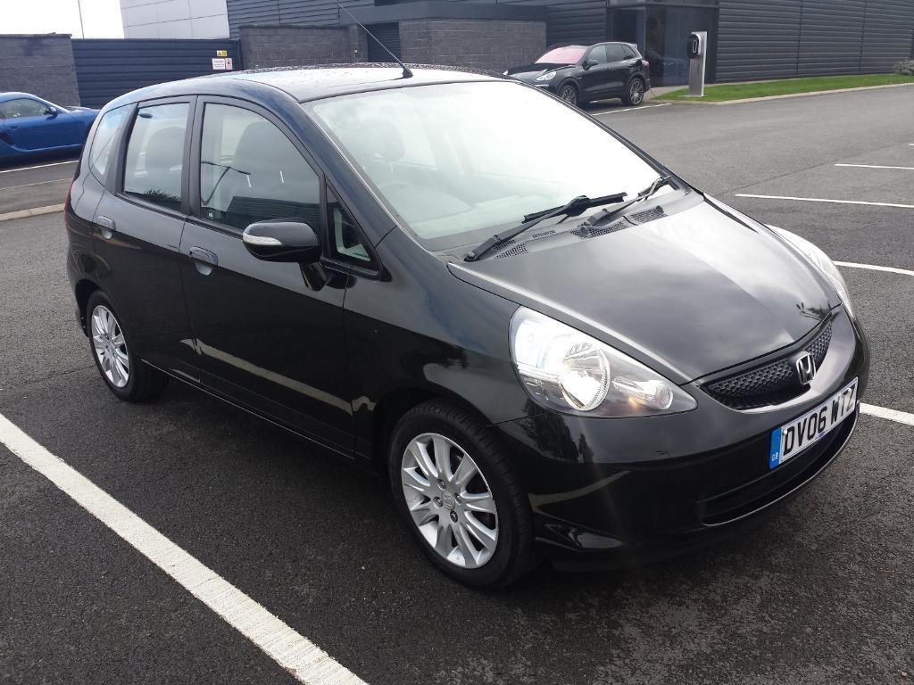 2006 Honda Jazz 1.4 I-DSI SE Hatchback 5 Door Petrol Manual Black Genuine  Low