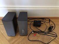 Bose companion 2 (series II) speakers