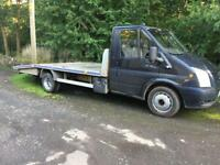 Transit Recovery 55 reg mk7 front 135 6 speed