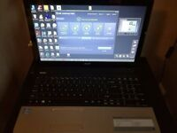 Acer Laptop E1-571 i5 processor 4gb Memory, Office 2013, Working!
