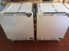 NEFF integrated fridge and freezer