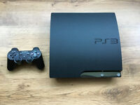 250GB Playstation PS3 Boxed with official controller, games, Playstation Eye & Media Remote Control