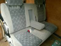 Reclining seat / bed for van conversion