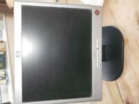 """HP 1502 MONITOR 15"""" GOOD WORKING CONDITION"""