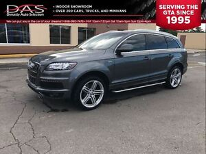 2011 Audi Q7 3.0 SUPERCHARGED S-LINE NAVIGATION/PANO ROOF