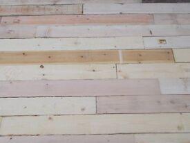 reclaimed timber 40p per slat