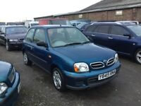 NISSAN MICRA VIBE LOW MILEAGE LOVELY DRIVING LITTLE HATCHBACK NICE CLEAN INTERIOR ANY TRIAL WELCOME