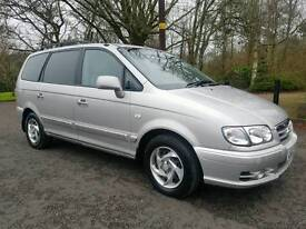 Hyundai Trajet 2.0 CRTD GSI 7 SEATER MPV! Only 86000 MILES! MOT'D NOV 2017, FSH! DRIVES AS NEW!