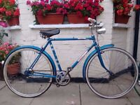 Vintage Elswick hopper 3 speed Town bike