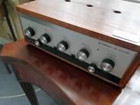 Leak Stereo 30 plus vintage audiophile amplifier Mint condition