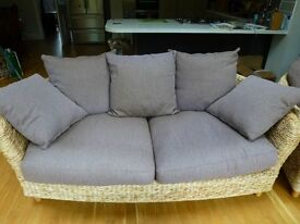 Conservatory Sofa and Armchair - Very Comfortable