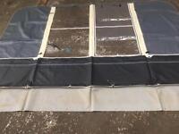 Caravan awning end panel